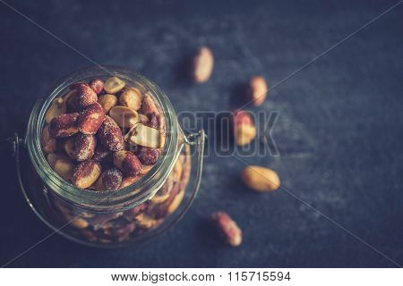 Peanuts In The Jar