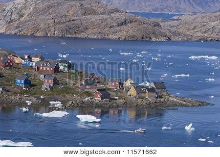 Kulusuk in Greenland