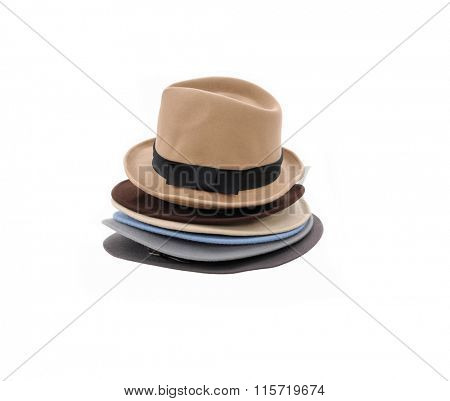 Stacked of Summer panama hat