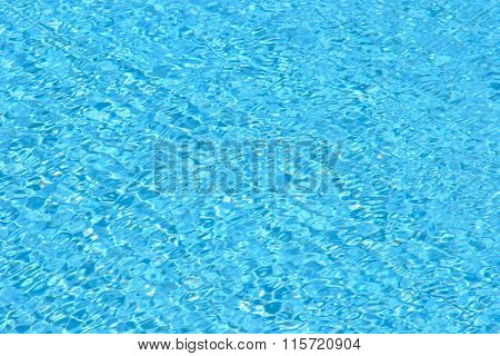 Blue Water Abstract Background