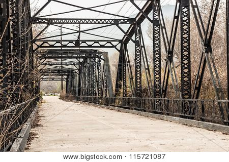 Parker Truss Bridge in San Diego, California