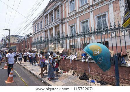 Street Store Homeless Program In Manaus, Brazil