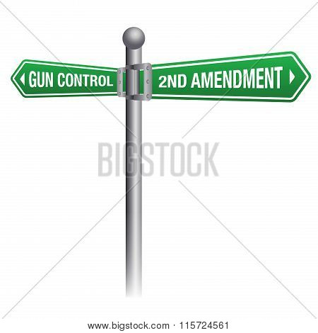 Gun Control And Rights Theme