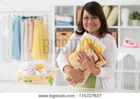 Laundry attendant