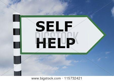 Self Help Concept