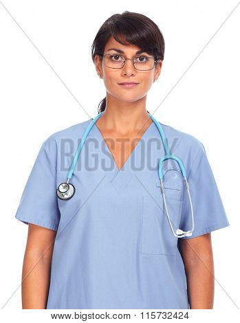 Asian medical doctor woman.