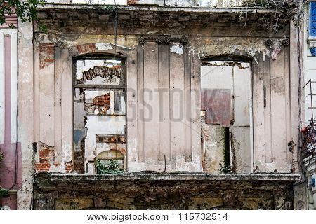 Slum Facade Og House