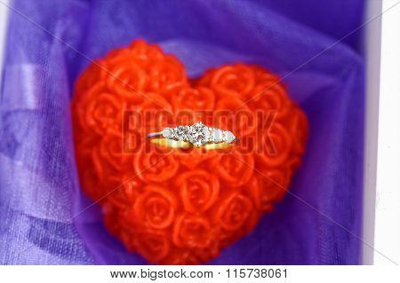 Diamond enggagement ring