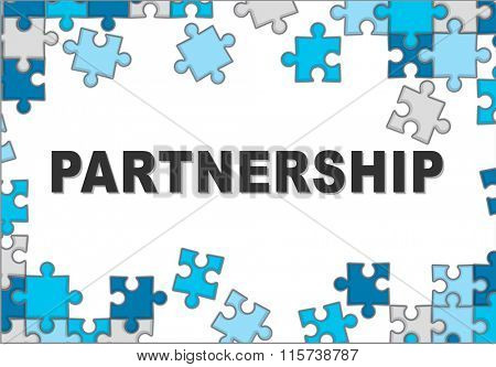 Partnership Partners Cooperation Collaboration Concept