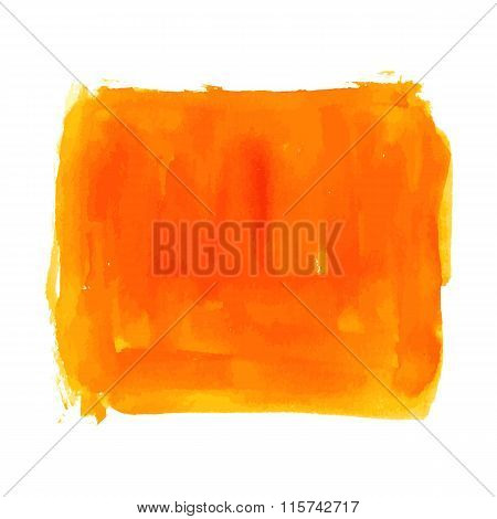 Abstract Watercolor Square Brushed Background