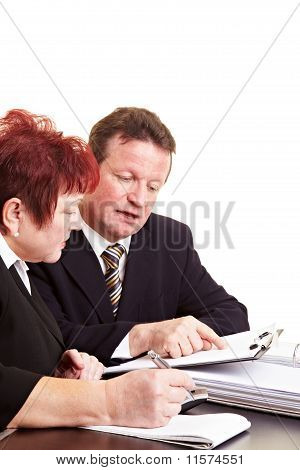 Financial Advisor Explaining Investment Strategy