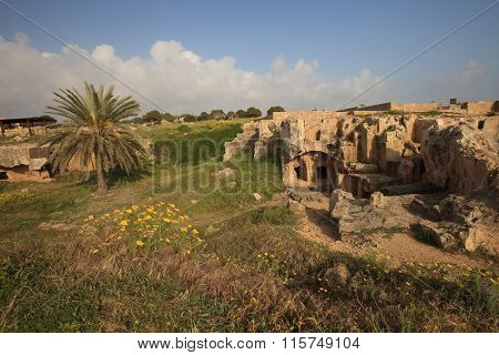 Ancient Tombs Of The Kings In Paphos, Cyprus