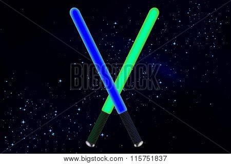 swords in space
