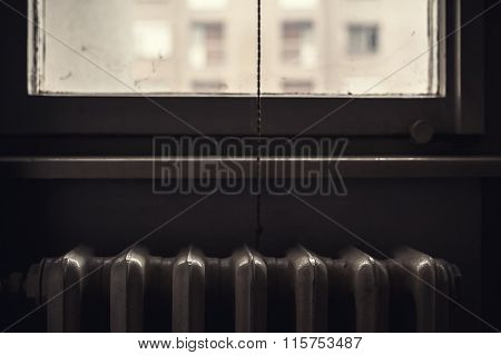 Details Of An Old Radiator