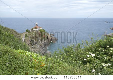 Lighthouse At Cudillero - Horizontal