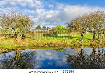 Lancaster Canal, Crooklands, Cumbria, England