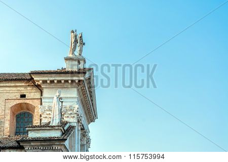 Catholic Cathedral In Urbino, Italy