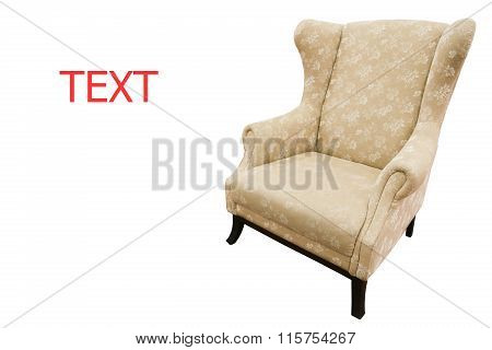 chair or sofa in modern home, modern design of chair or sofa, interior of home and relax corner in home, home equipment.