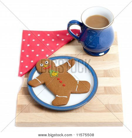 Gingerbread Snack Tray