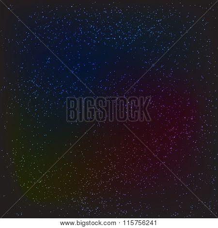 Dark night stars or snow texture background.