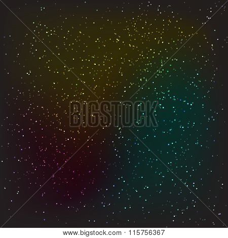 Dark night stars or snow texture background.