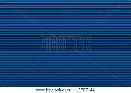 Dark blue garage door