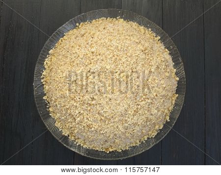 Plate Of Boiled Wheat