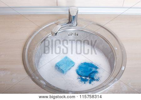 Sponge Rag And Foam