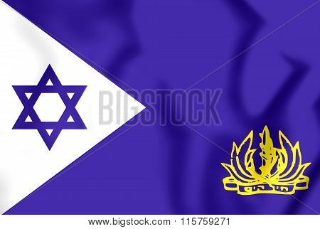 Naval Flag Of Israel