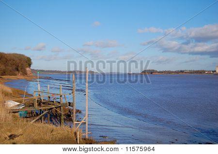 Severn At Lydney Harbour