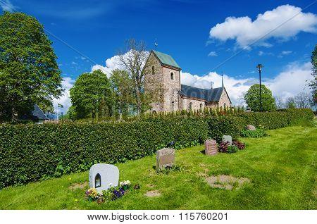 Old sweden church