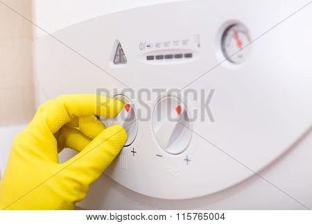 Controlling Temperature In Gas Boiler