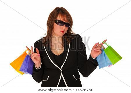 Shopping Glamour Girl
