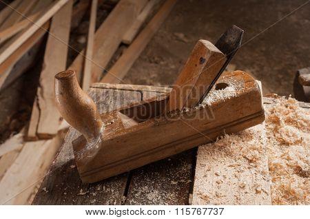 Old Carpenter Jointer.