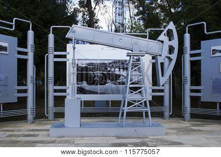 The Pumping Unit. Volgograd, Russia