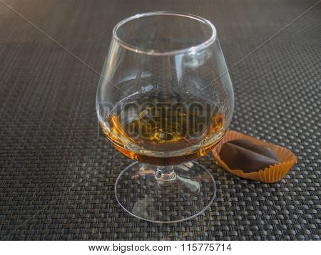 Cognac With Chocolate