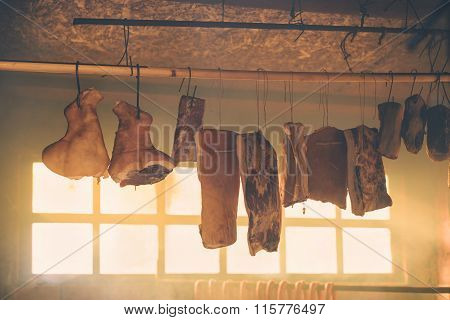 Smoked Bacon And Other Cured Pork Meat