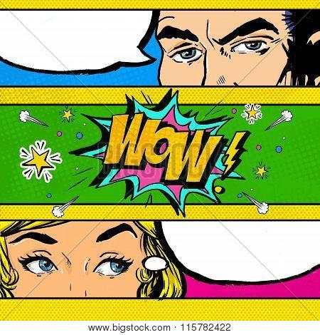 pop art comic dialog pop art couple pop art love advertising