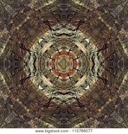 kaleidoscope square: chert layers