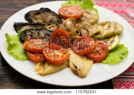 Photo of Grilled Vegetables