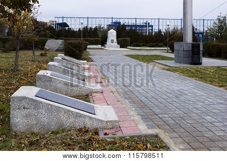 Stele, Brotherly, Grave, Burial, Cemetery, Soldier, Defender, 138, Guards, Division, Army, Dead, Was