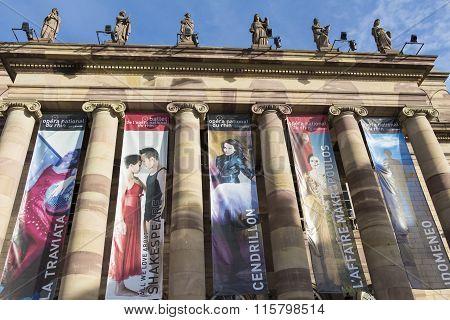 The National Opera Du Rhin, Strasbourg, France.