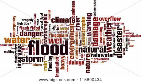 Flood Word Cloud