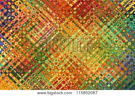 A Colorful Abstract Paint Textured Background
