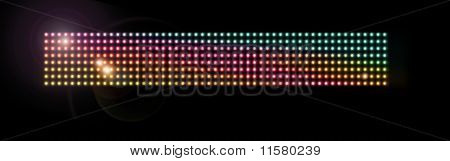 Colorful Led Mesh