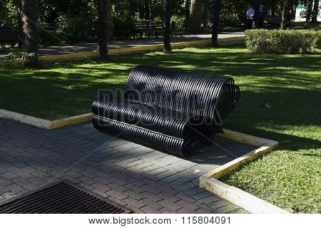 The Lovers Bench. Sochi, Russia