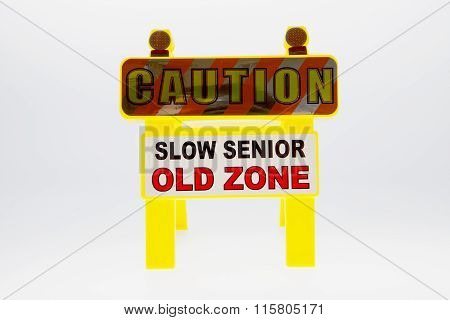 Caution Senior