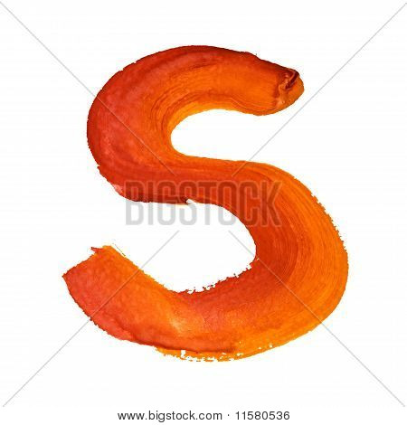 S - Color Letters