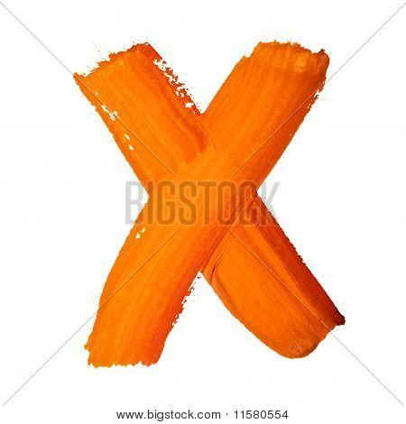 X - Color Letters