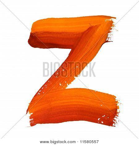 Z - Color Letters